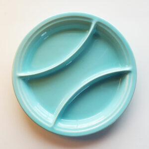 Pacific Pottery Hostessware 603 Relish Aqua