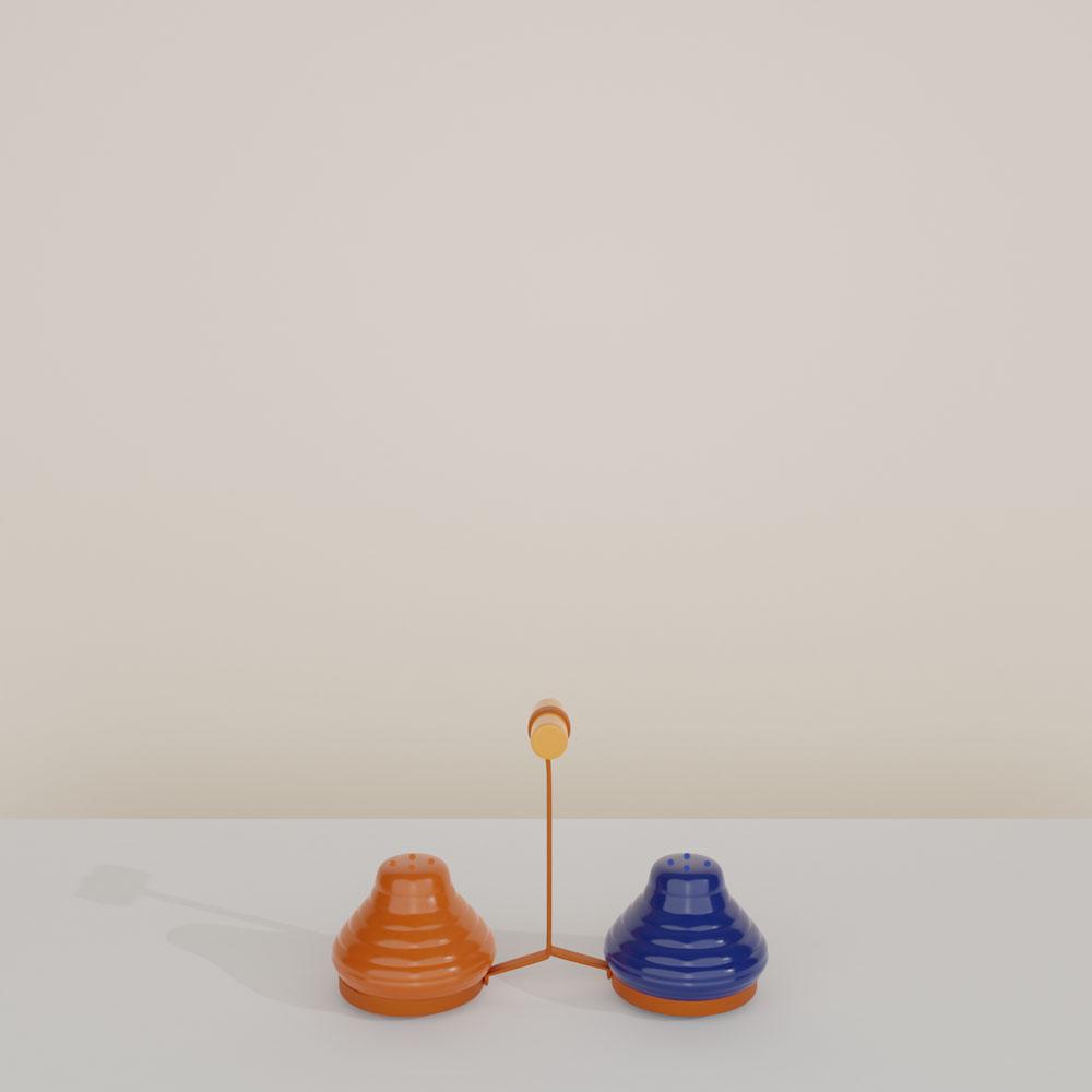 Bauer Pottery Ringware Salt & Pepper Shakers