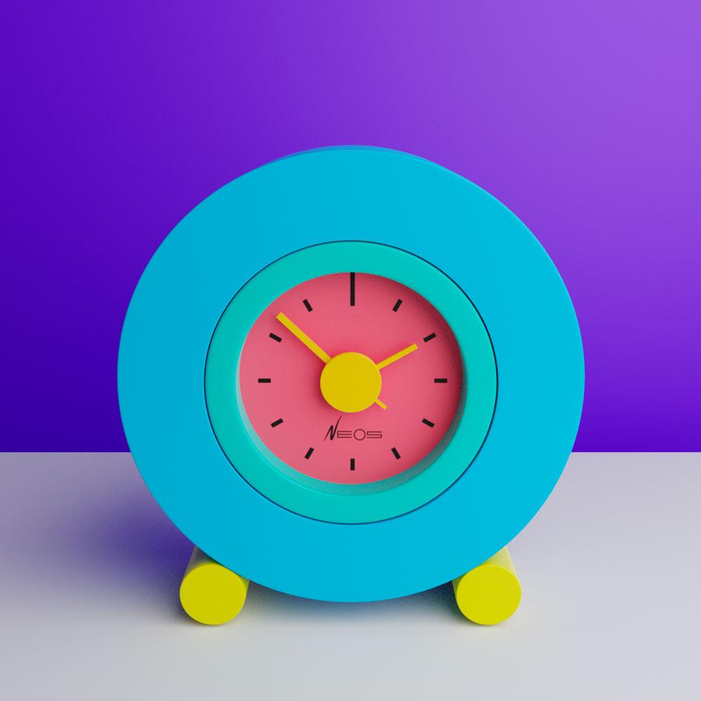 Memphis-Milano Sowden DuPasquier Clock