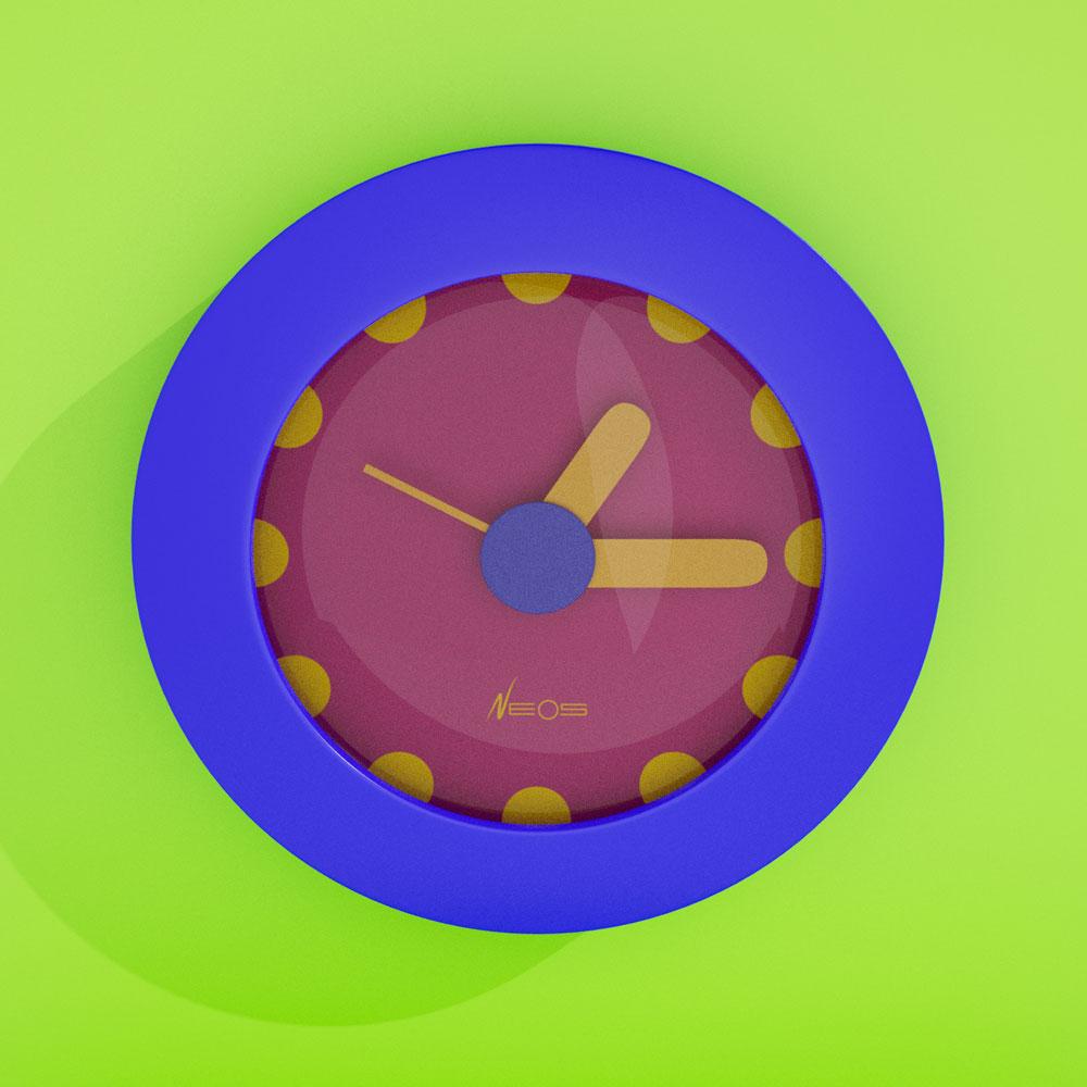 Memphis-Milano Sowden DuPasquier Clock 01