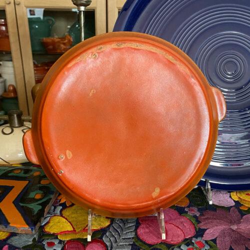 Pacific Pottery Hostessware 412 Tab Target Platter (back)