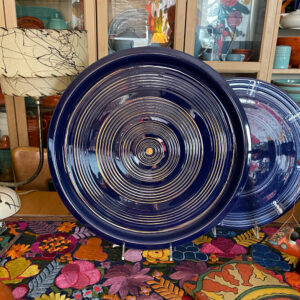 Pacific Pottery Hostessware 451 Target Platter Pac Blue