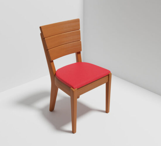 QwkDog 3D Heywood-Wakefield Chair