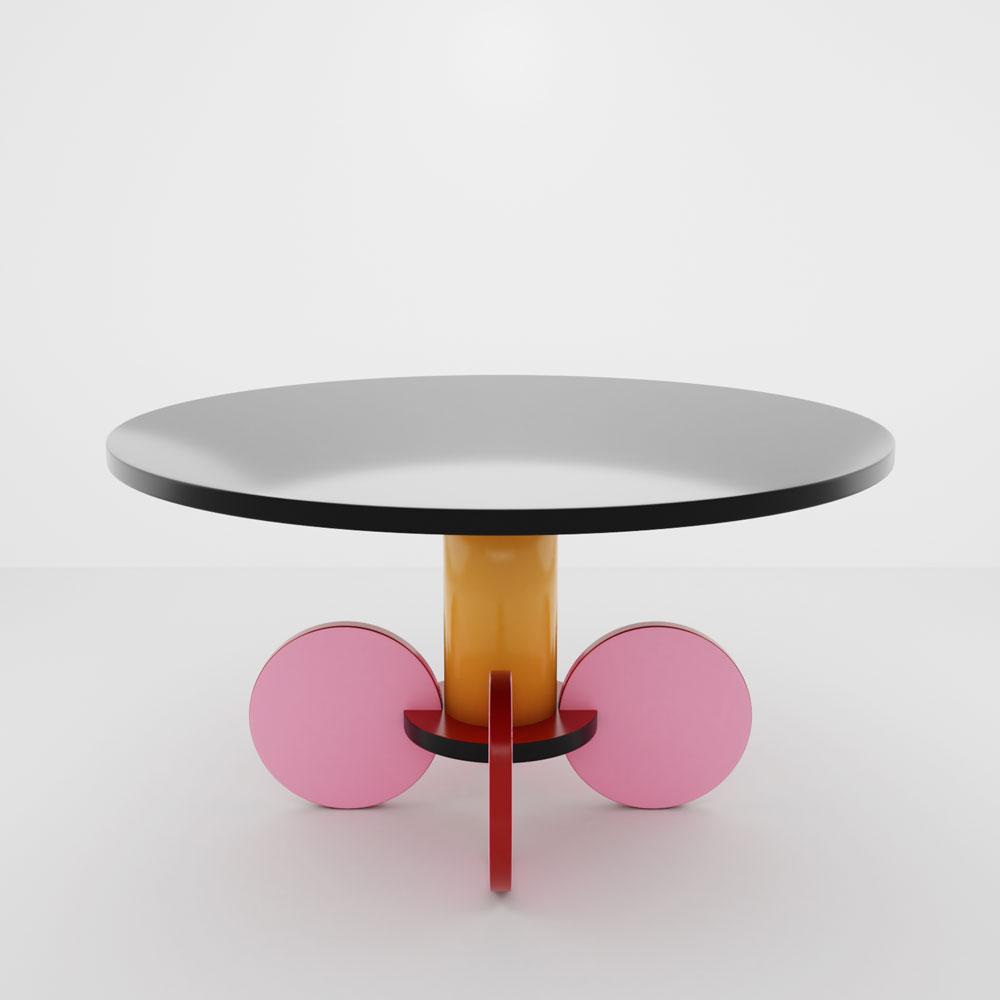QwkDog 3D Memphis-Milano Di Lucci La Festa Table