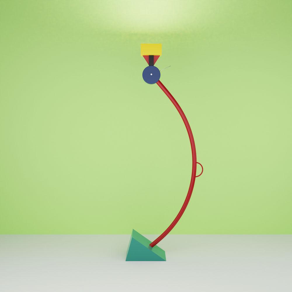QwkDog 3D Memphis-Milano Treetop Lamp