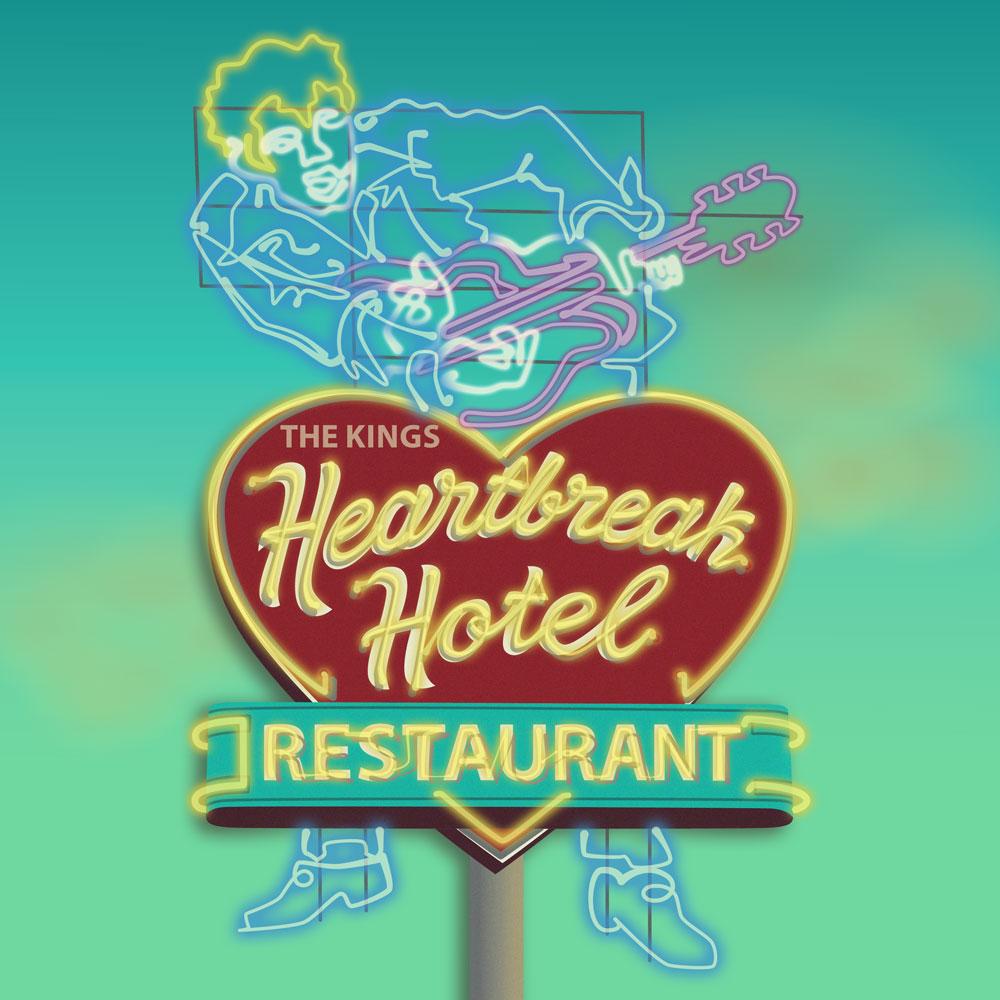 QwkDog Neon Heartbreak Hotel