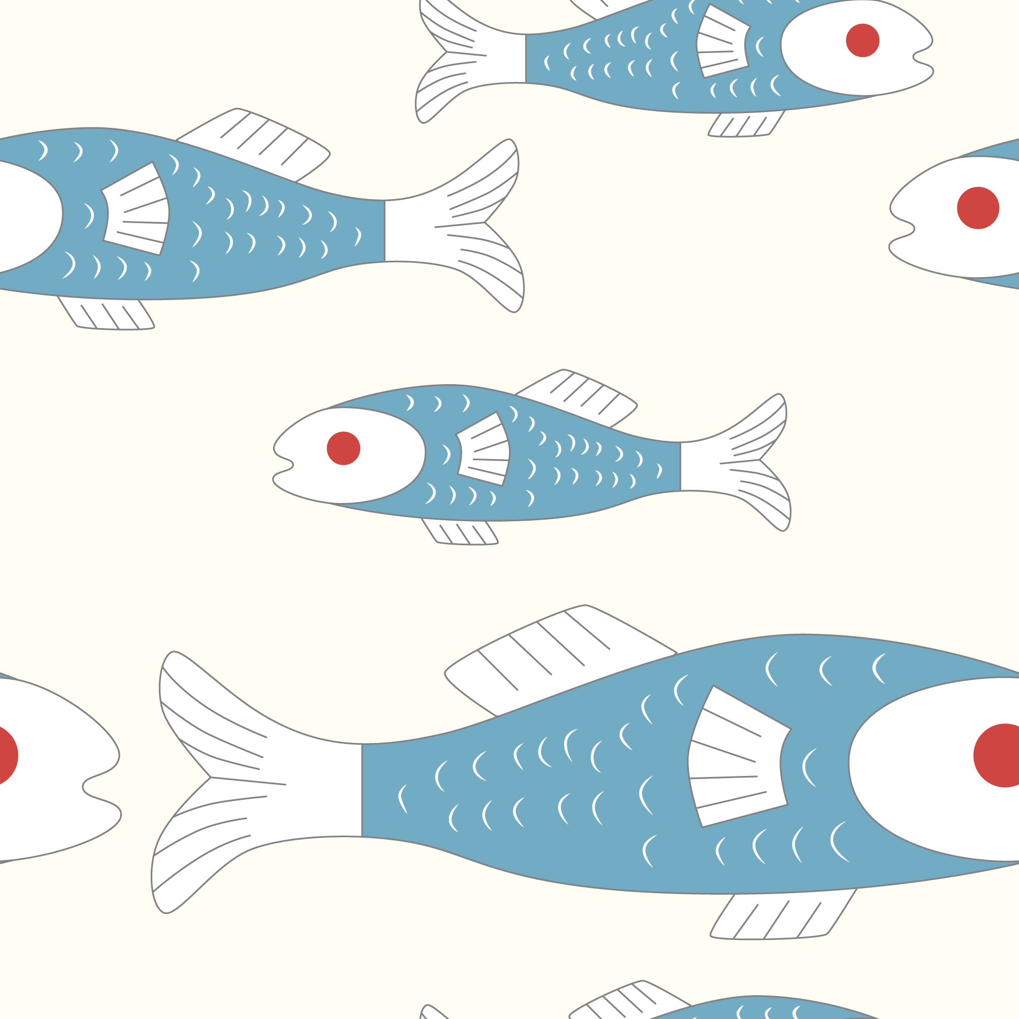 QwkDog Merida Fish Pattern