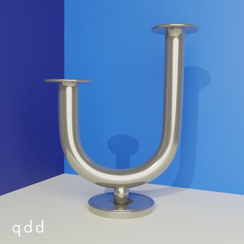 QwkDog 3D Chase Von Nessen Taurex Candleholder