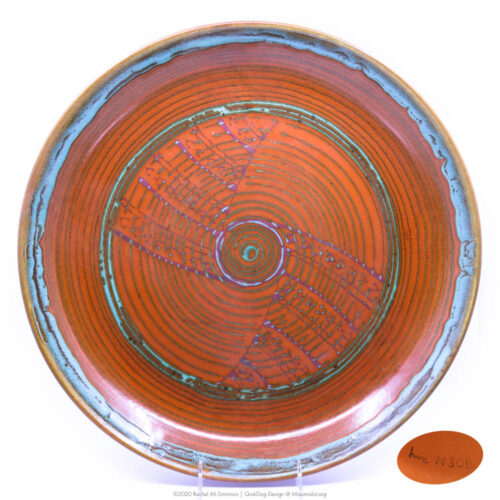 Pacific Pottery Hostessware 623 Low Bowl