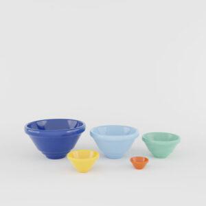 Pacific Pottery Hostessware Mini Kitchen Bowl Set