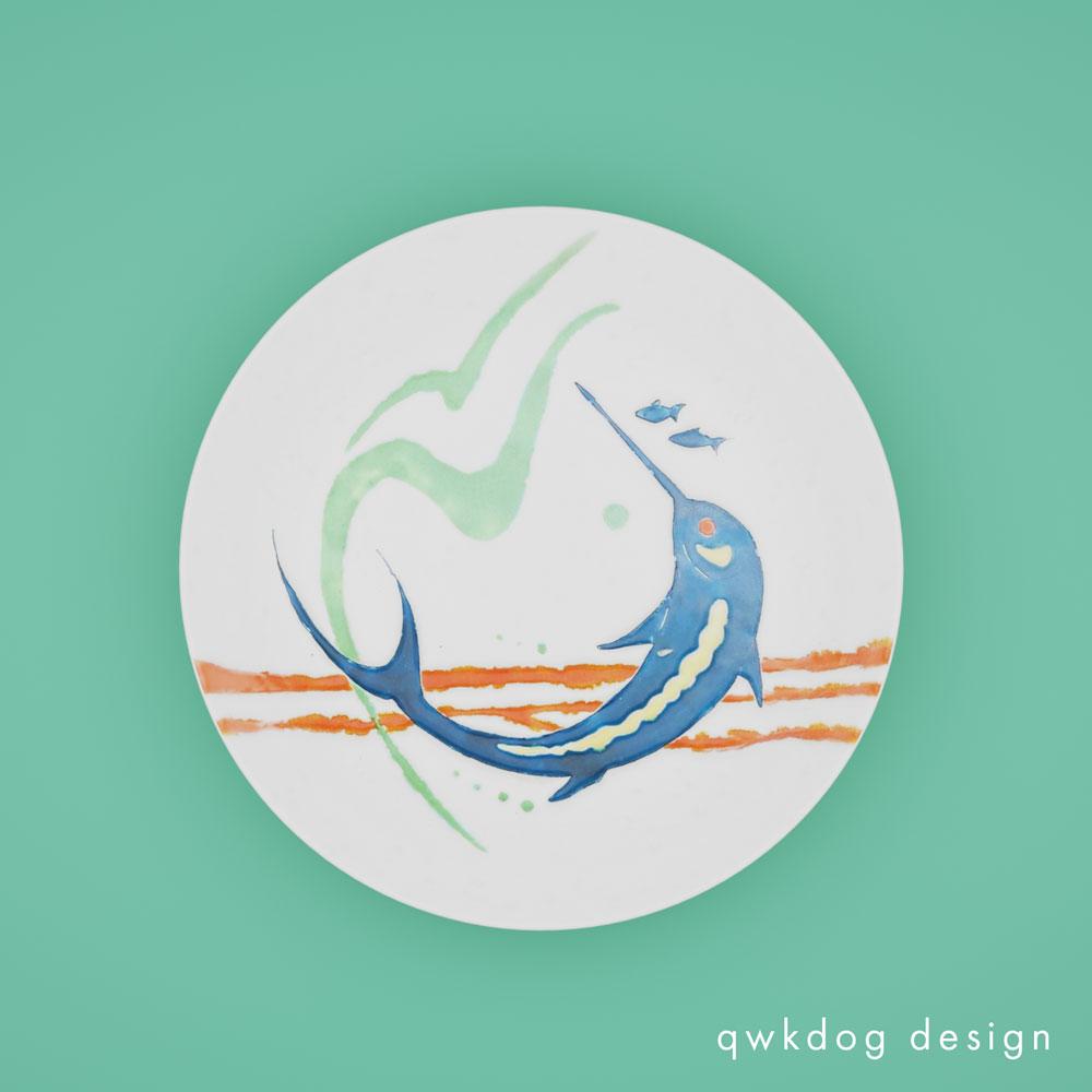 QwkDog 3D San Jose Pottery Marlin