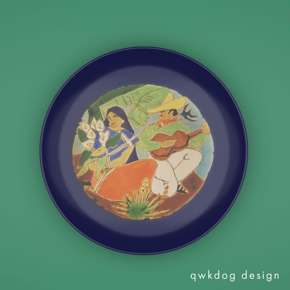 QwkDog 3D San Jose Pottery Serenade