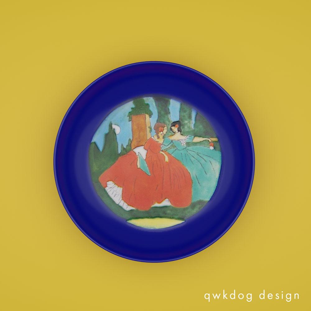 QwkDog 3D San Jose Pottery Spanish Women