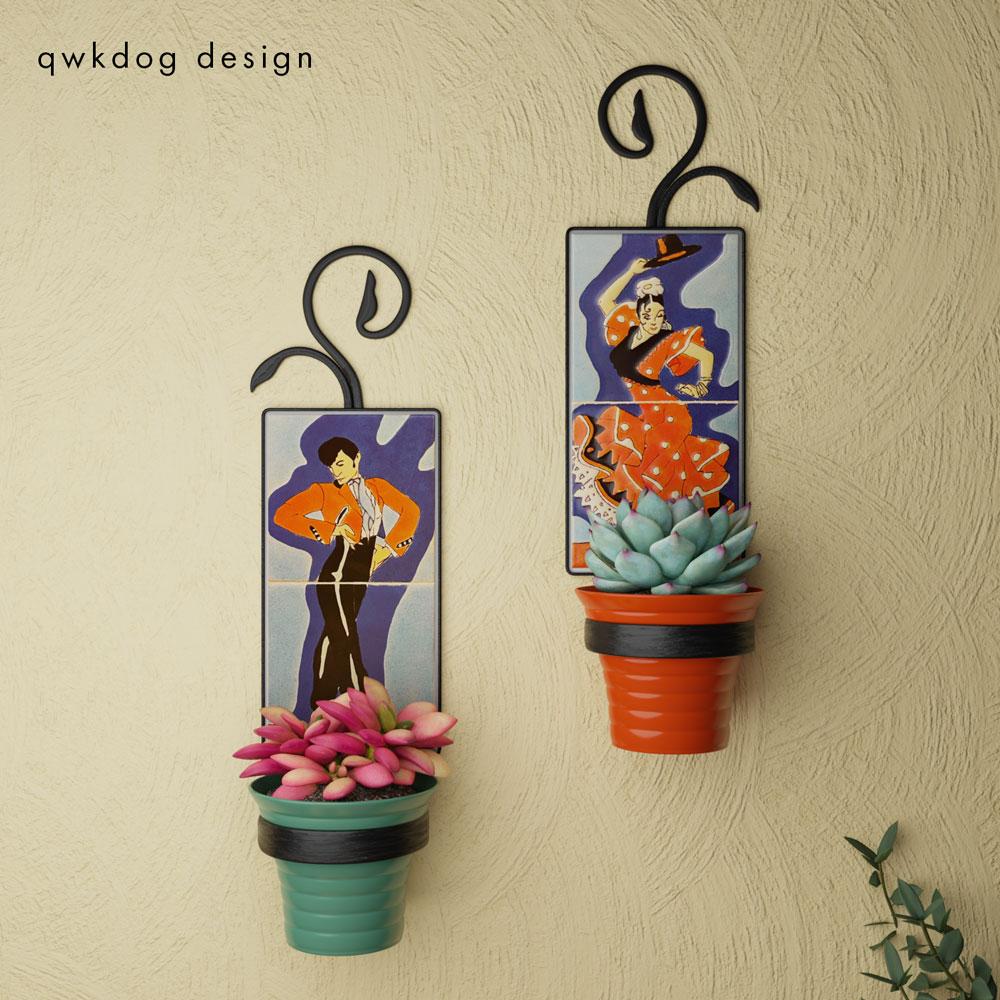 QwkDog 3D San Jose Pottery Tango Gitano