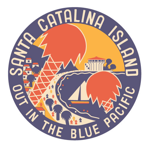 Catalina Island Shepard Illustration