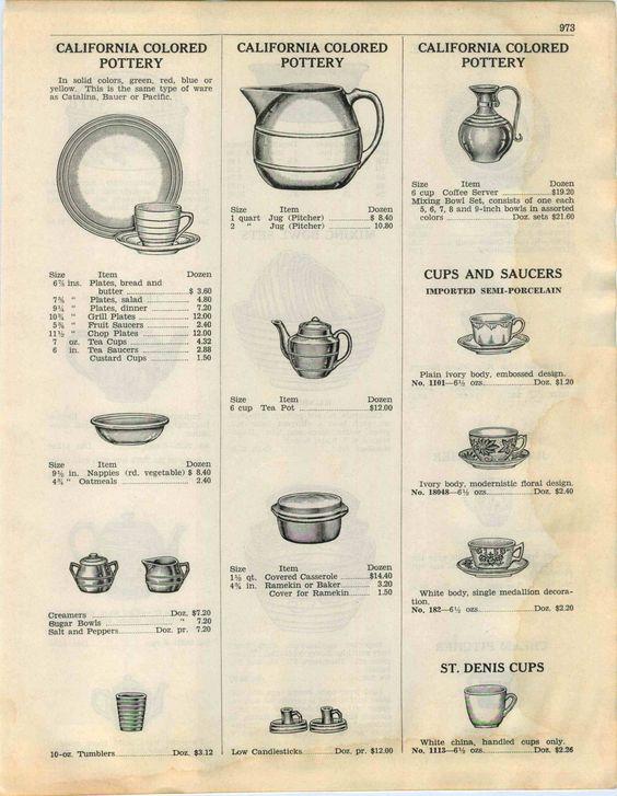 Meyers California Rainbow Catalog Page