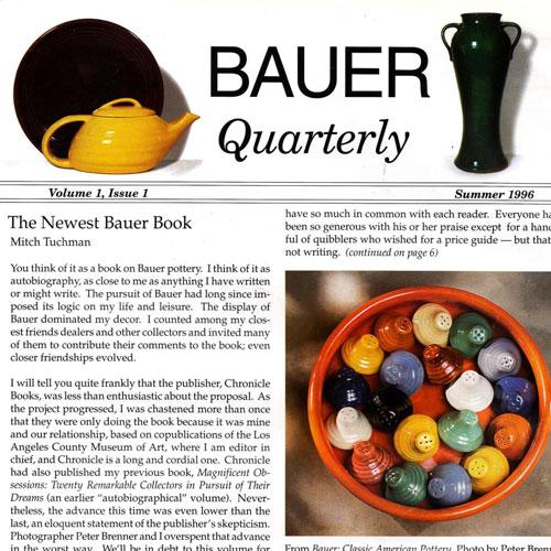 Bauer Quarterly Magazine Icon