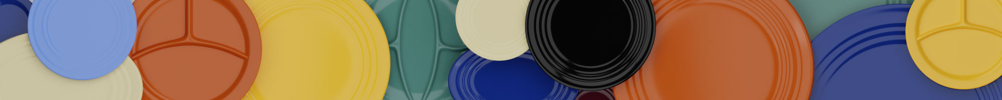 QwkDog 3D Bauer Pottery Plates Banner