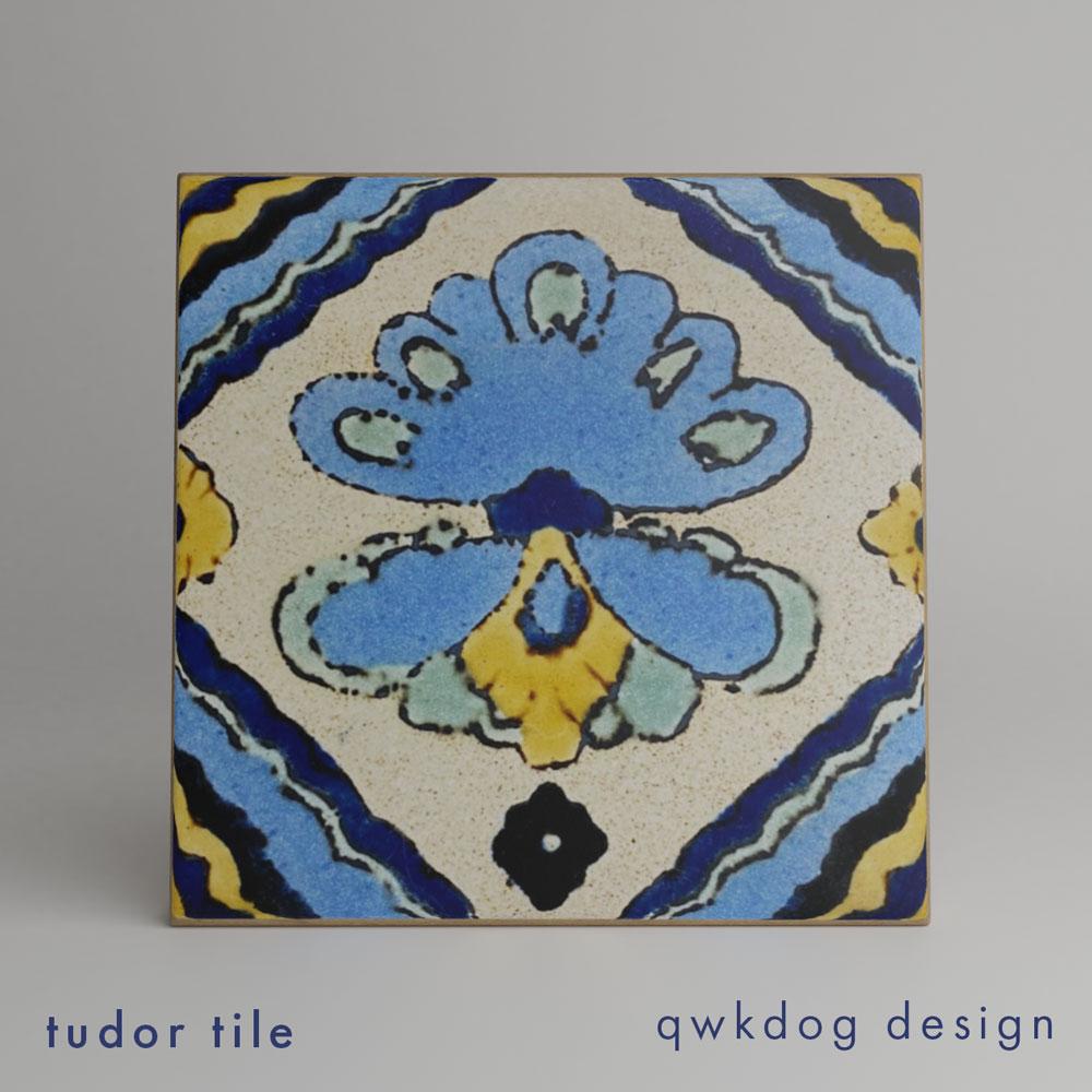 QwkDog 3D Tudor Tile B-15