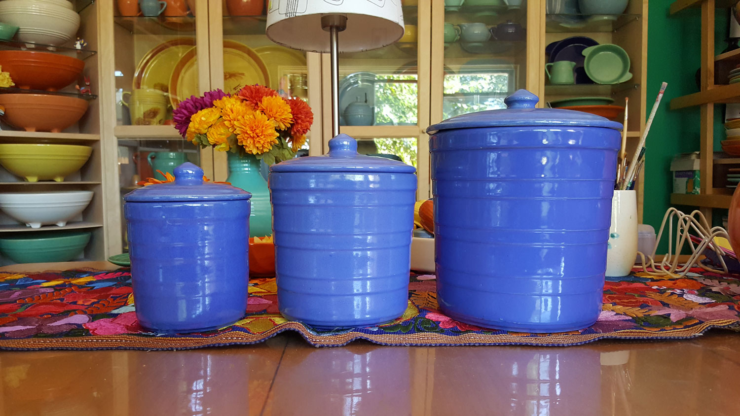 Garden City Ringware Canisters