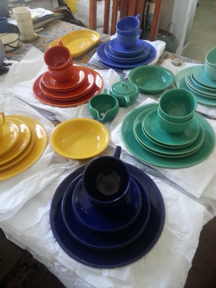 Garden City Pottery Plainware