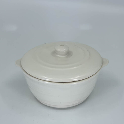 QwkDog Pacific Pottery Hostessware 205 C Ramekin Lid white