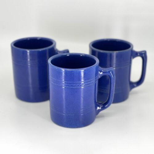 QwkDog Pacific Pottery Hostessware 502 Tankard Mugs pacblue