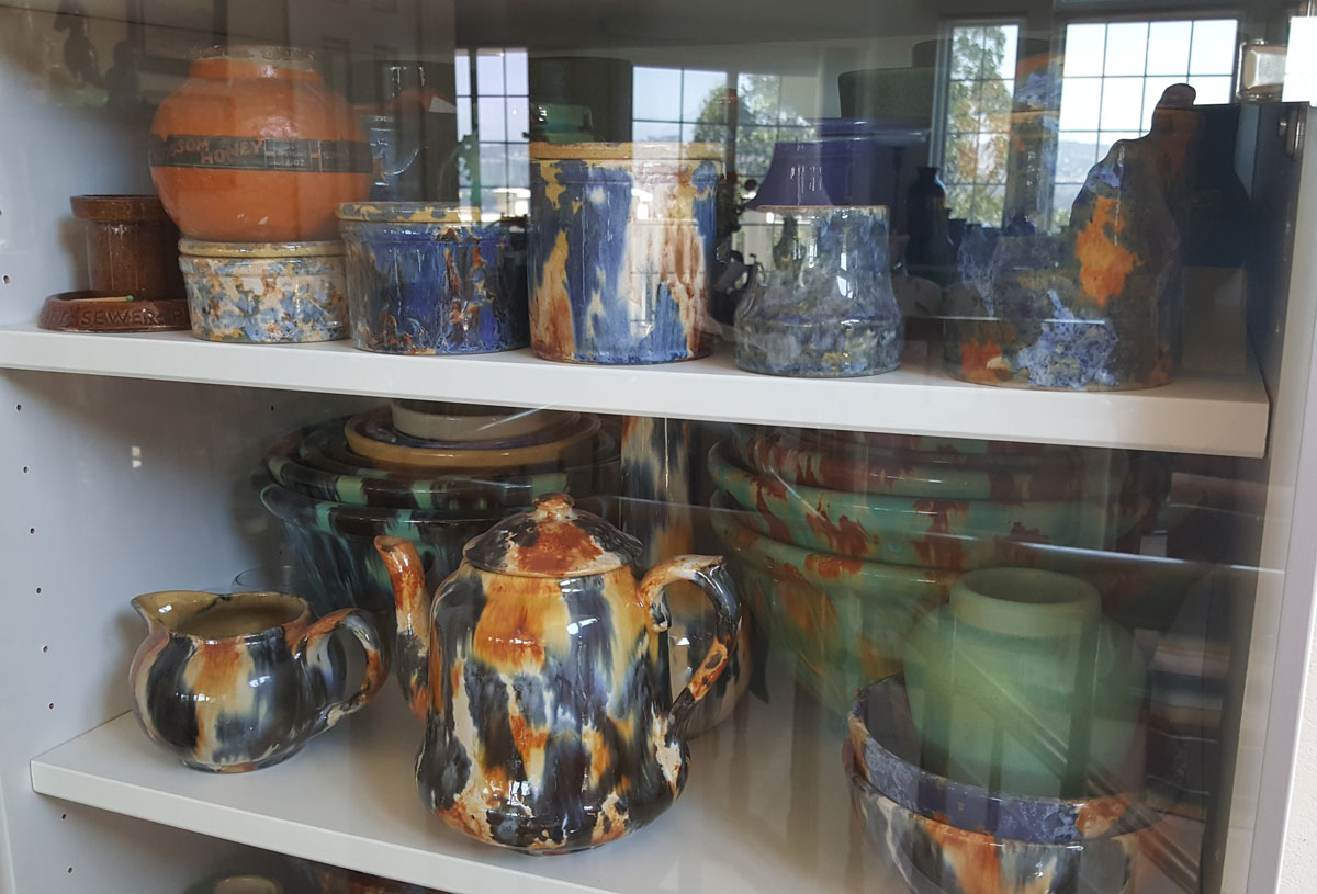 Pacific Pottery blended glaze variety