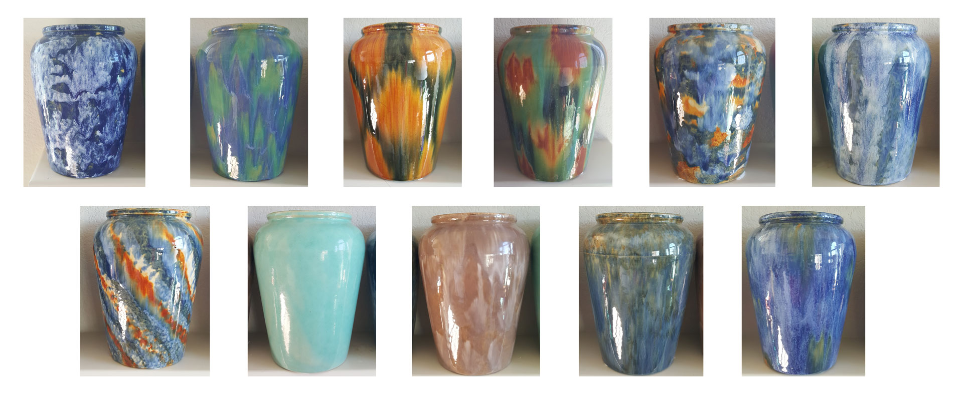 Pacific Pottery Blended Glazes