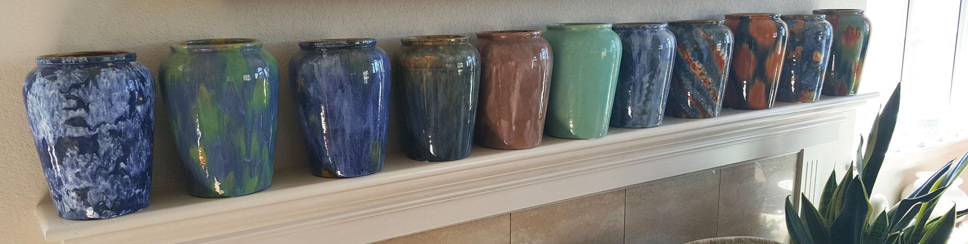 Pacific Pottery Sawtelle Vases Sakata