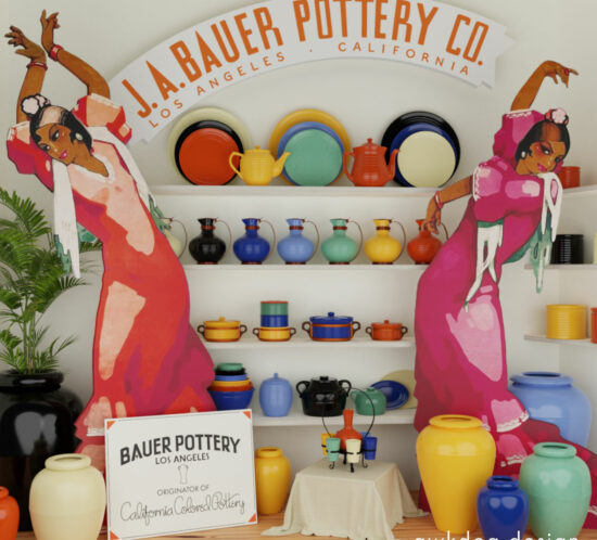 QwkDog 3D Bauer Pottery Window Gazing (color)