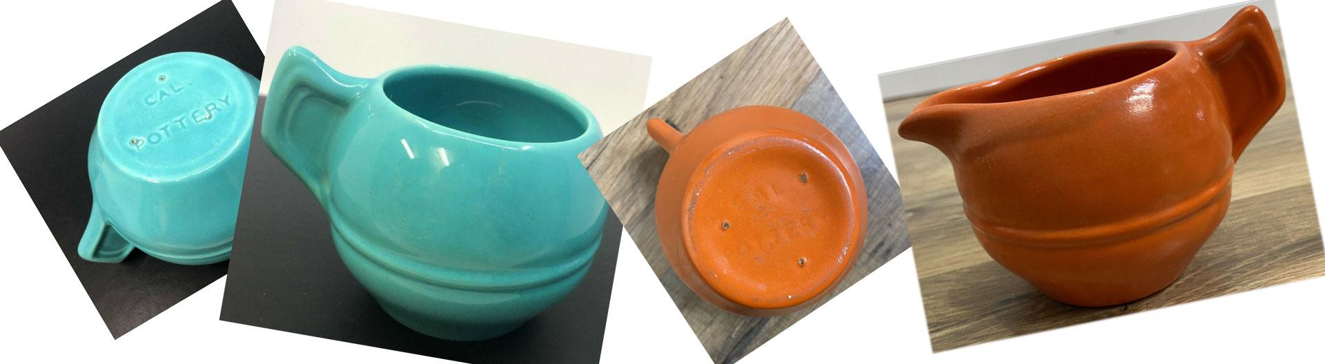 QwkDog Metlox Pottery Creamer Sugar