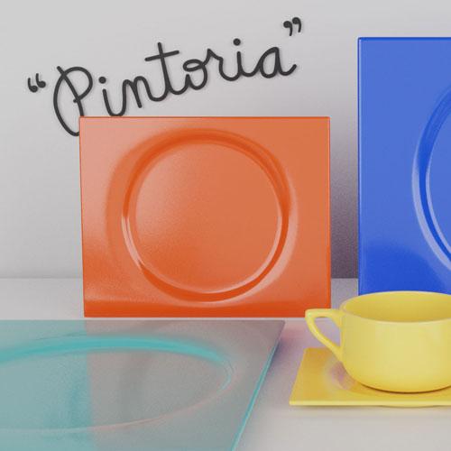 QwkDog 3D Metlox Pintoria Place Setting
