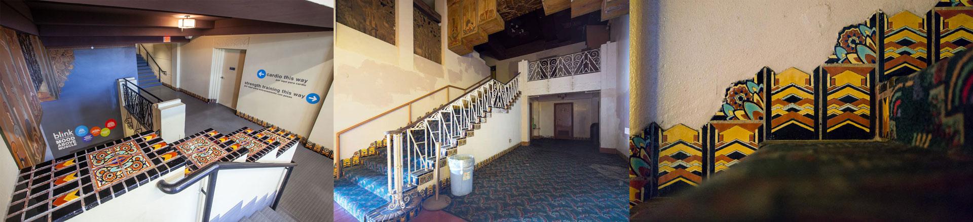 Tudor Tile Warner Theater