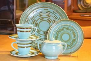 Green Decorated Ware