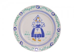 Dutch Girl Salad Plate